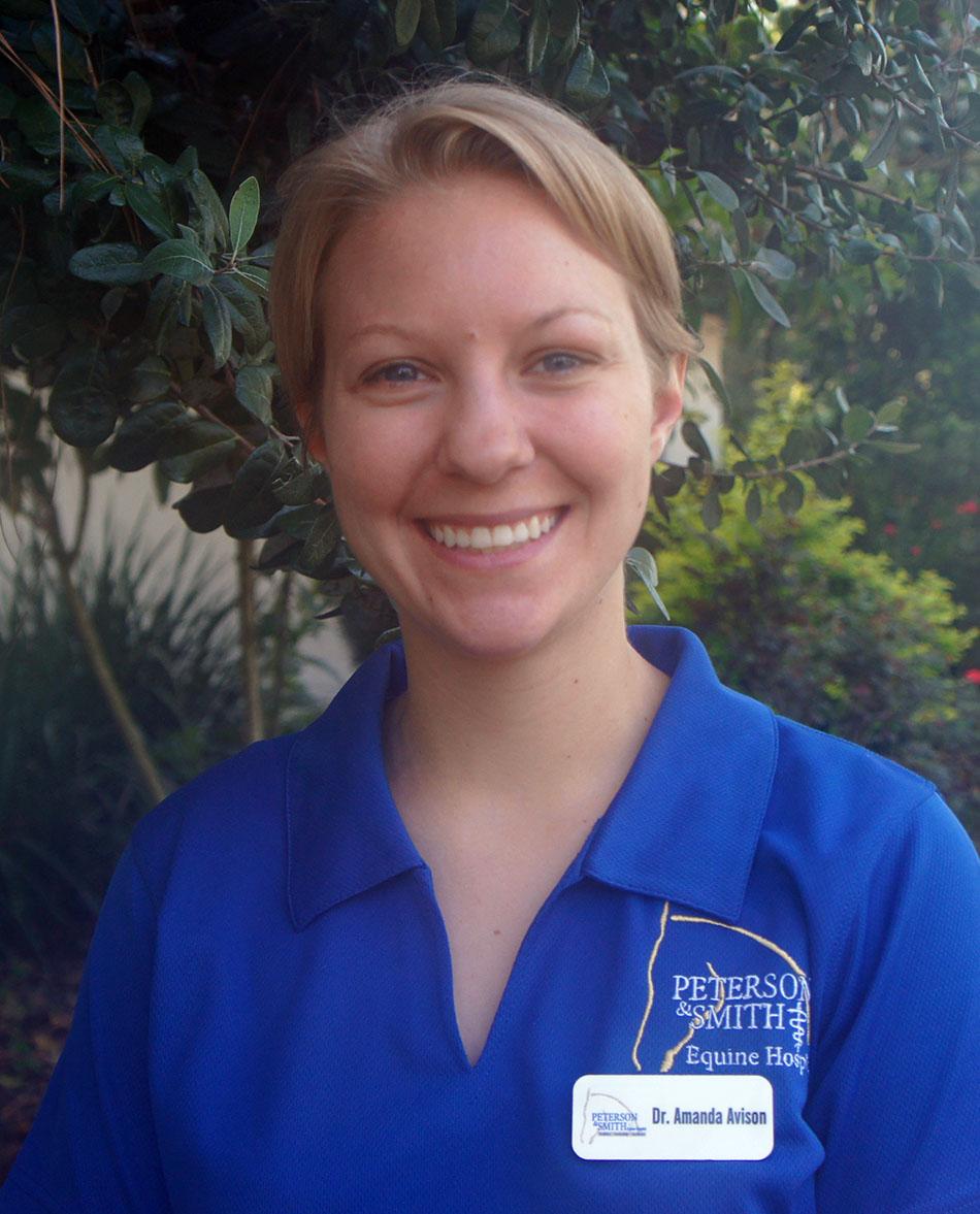 Dr. Amanda Avison, Hospital Intern